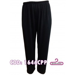 Pantalones de angorina. Color negro liso