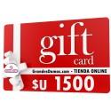 Gift Card $U 1500