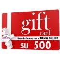 Gift Card $U 500