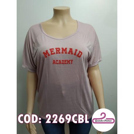 Buzo Mermaid. COLOR ROSA PÁLIDO