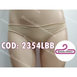 Tanga cotton y spandex. COLOR BEIGE