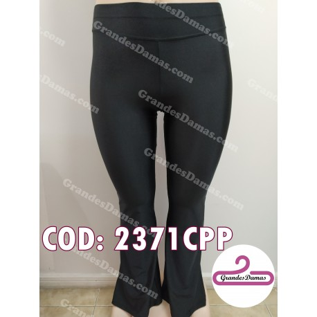 Calza lycra oxford. COLOR NEGRO