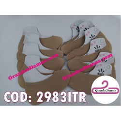 Medias nylon para calzado. COLOR BEIGE